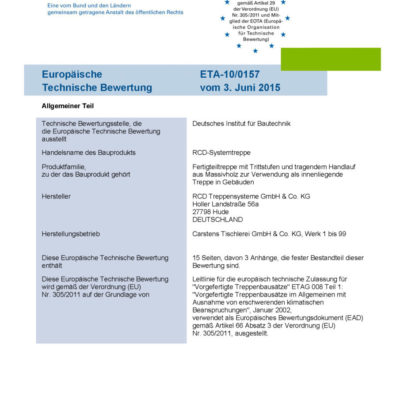 Eta 10 0157 Rcd Systemtreppe