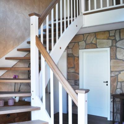 Klassisch Moderne Holztreppe Wendeltreppe Holztreppe