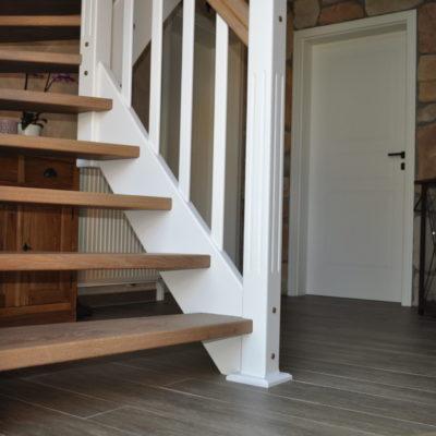 Klassische Holztreppe Treppen Holz Treppenbau