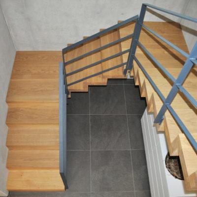 Faltwerktreppe Massivholztreppe Holz Treppe Treppenbau