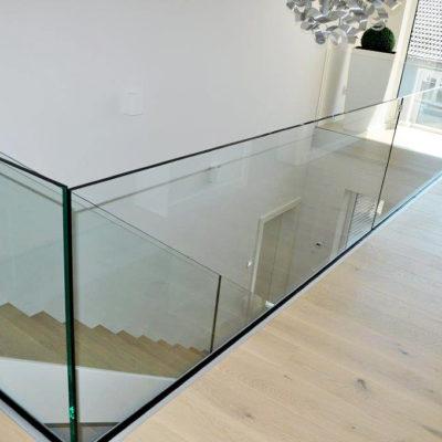 Treppen Gelaender Handlauf Glas 0248