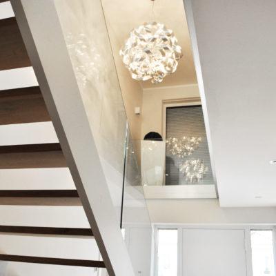 Treppenbau Holz Stahl Treppe