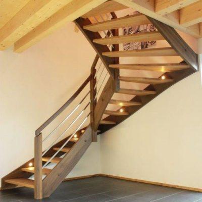 Treppenbau Wangentreppe Eingestemmt 0661