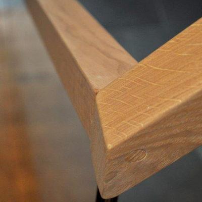 Treppengelaender Handlauf Holz 0325