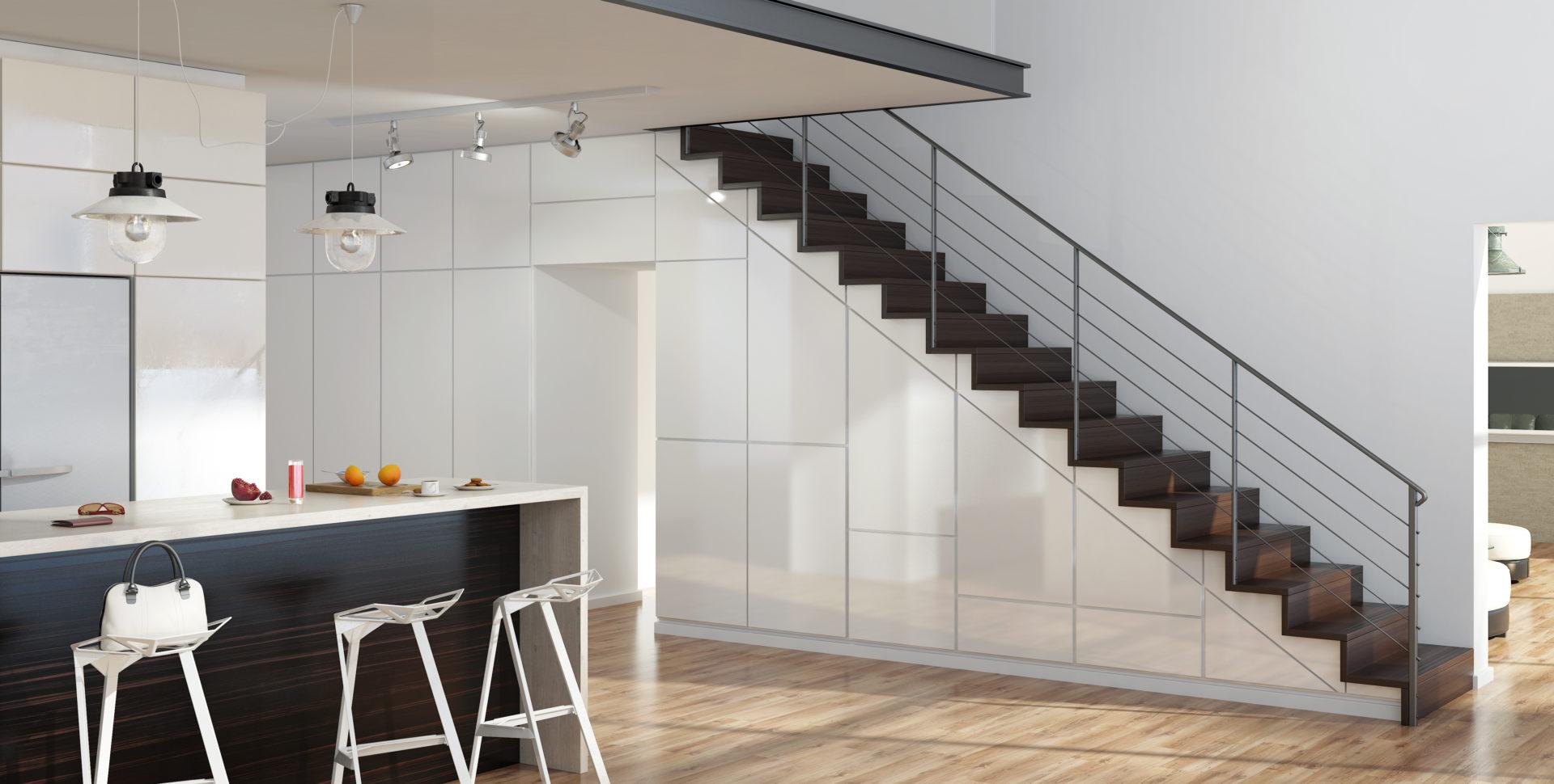 Treppenschrank Smartstore